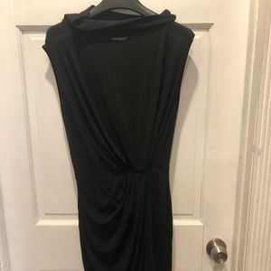 MaxMara black  sleeveless dress